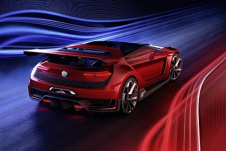 VW рассекретил GTI Roadster Vision Gran Turismo