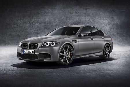 "Юбилейная версия BMW M5 ""30 Jahre M5"" представлена официально"