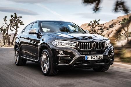 2015 BMW X6: официальные подробности