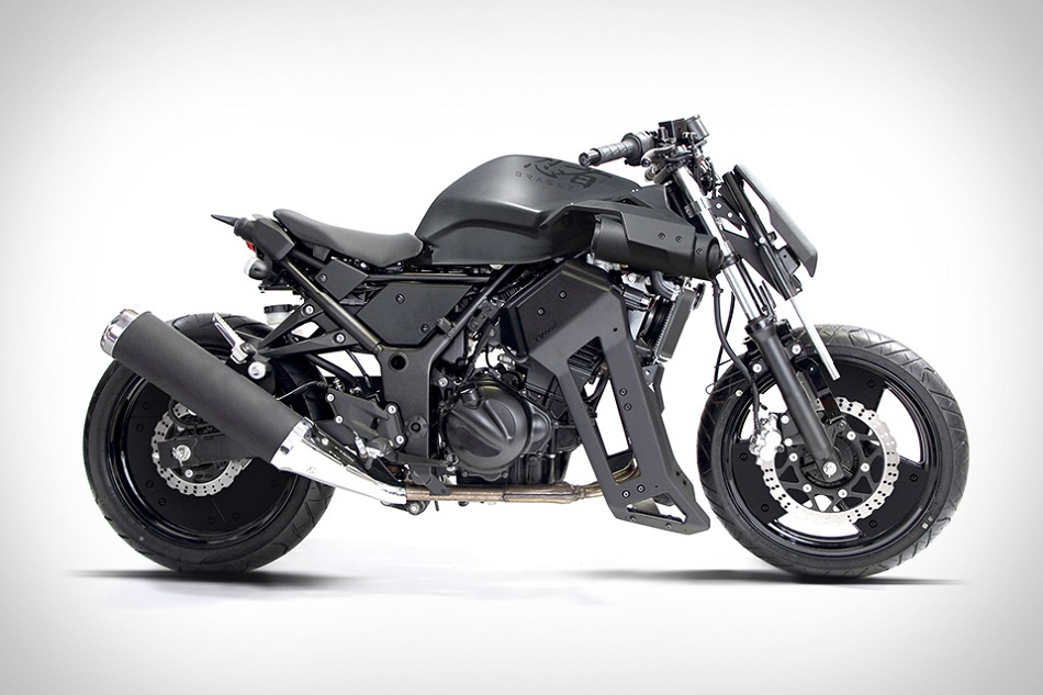 Brasse выпустила 31BLK модификацию для Kawasaki Ninja 250
