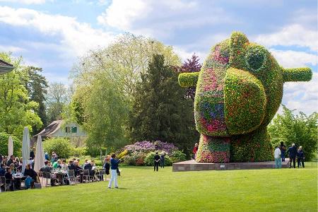 Цветочная скульптура Джеффа Кунса будет установлена в центре Нью-Йорка