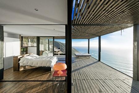 Дом Casa Till с видом на залив в Чили