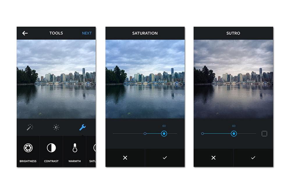 Instagram получил новые функции для редактирования фото
