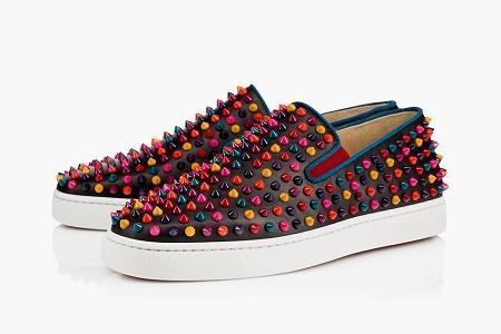 Капсульная коллекция Christian Louboutin Multi-Color Spike