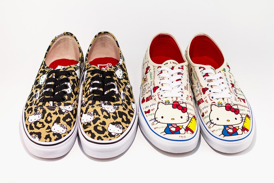 Кеды Vans x Hello Kitty Authentics