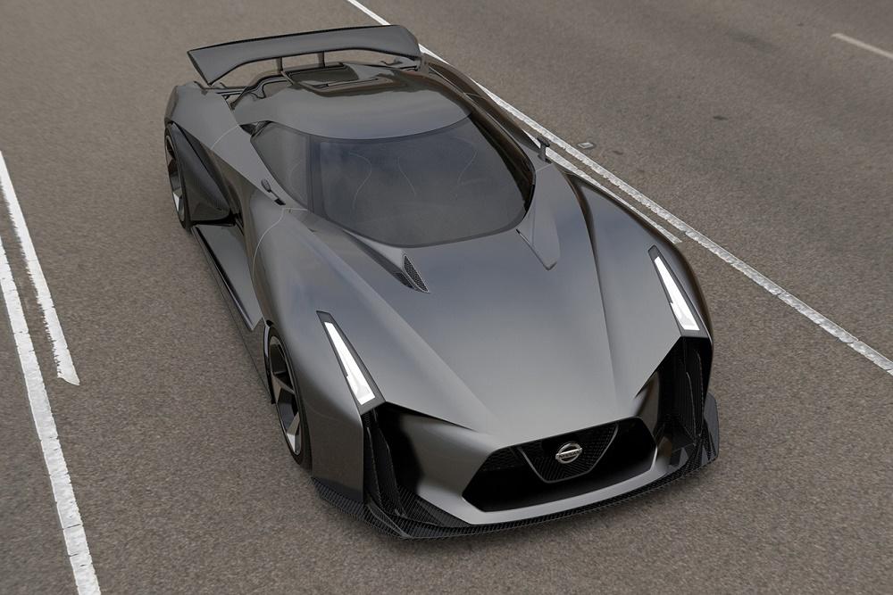 Концепт Nissan 2020 Vision Gran Turismo