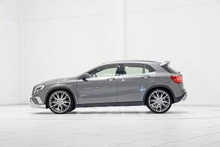 Новый Mercedes-Benz GLA-Class в обработке Brabus