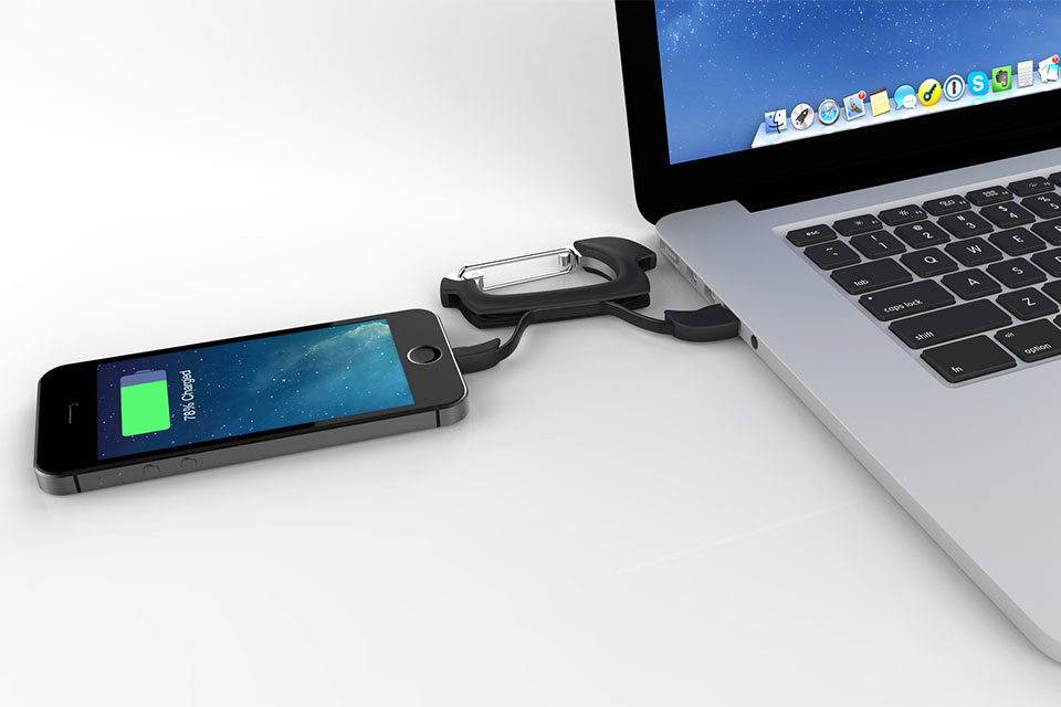 Портативный зарядный кабель NomadClip
