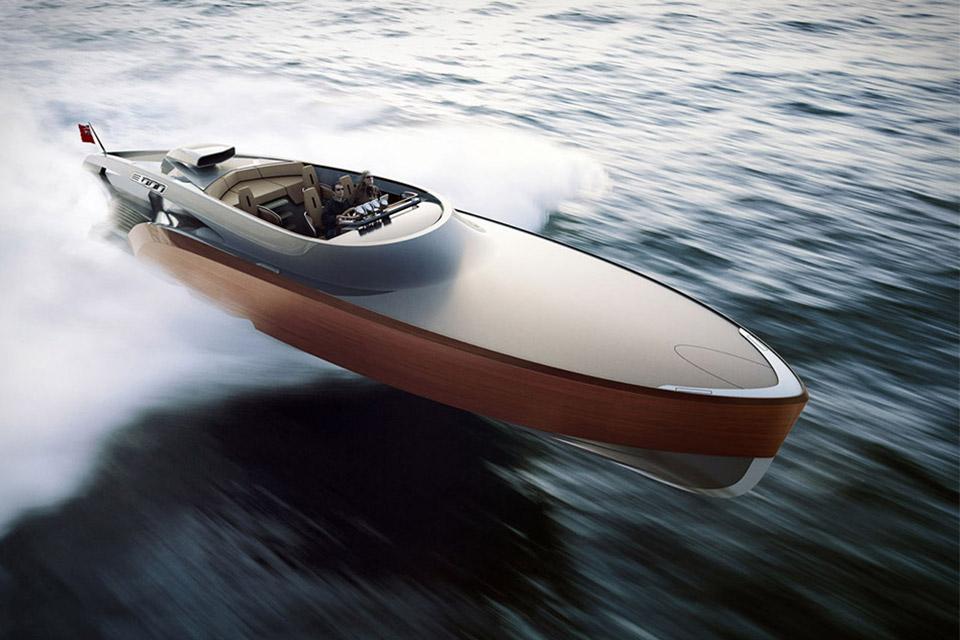Скоростной катер Aeroboat от Claydon Reeves