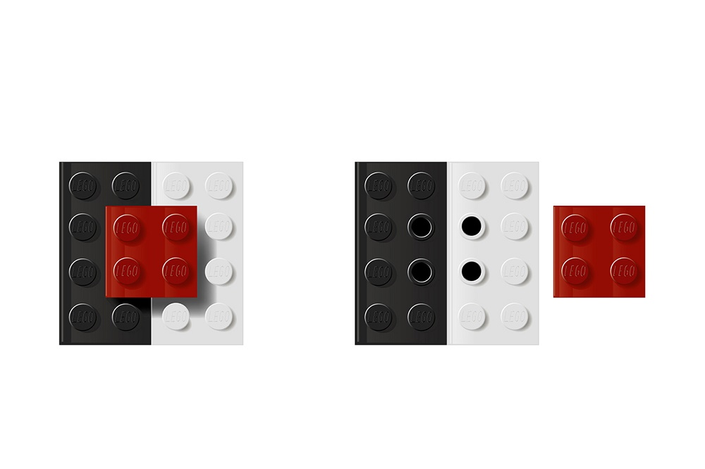 Соль и перец из LEGO