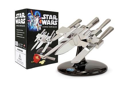 Star Wars X-Wing Knife Block: да пребудет с вами кухонная Сила!