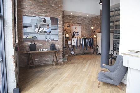 A.P.C. открывает поп-ап магазин в Wythe Hotel в Бруклине