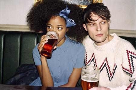 Кило Киш и Том Берк в рекламной кампании Maison Kitsuné Осень/Зима 2014