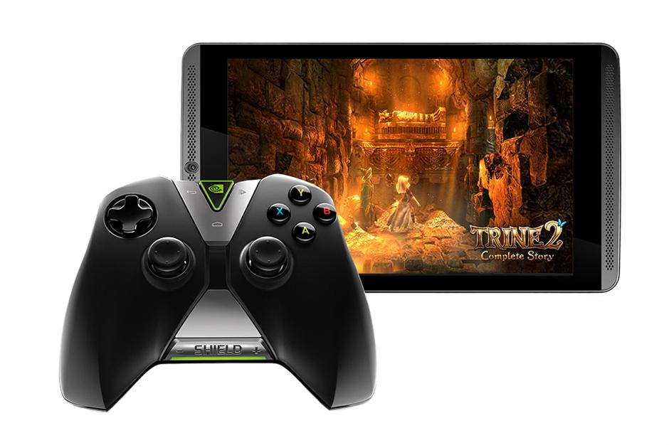 NVIDIA представили публике свой новый игровой планшет Shield Tablet