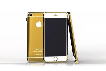 Открыт предзаказ на золотой и платиновый iPhone 6 от Brikk