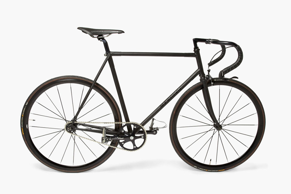 Пол Смит представил новый велосипед Mercian Fixed Gear Bike
