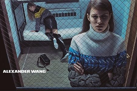 Рекламная кампания Alexander Wang Осень/Зима 2014