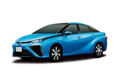 Toyota начнет выпуск водородных автомобилей в декабре