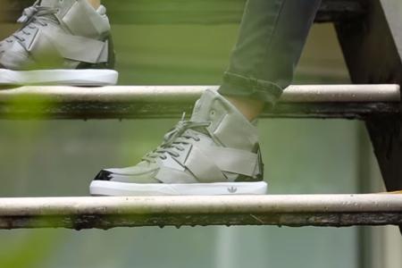 Видео в поддержку новых кроссовок adidas Originals C-10
