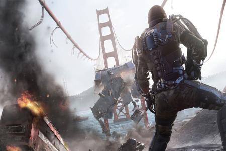 7-минутный видеоролик геймплея одиночной кампании Call of Duty: Advanced Warfare