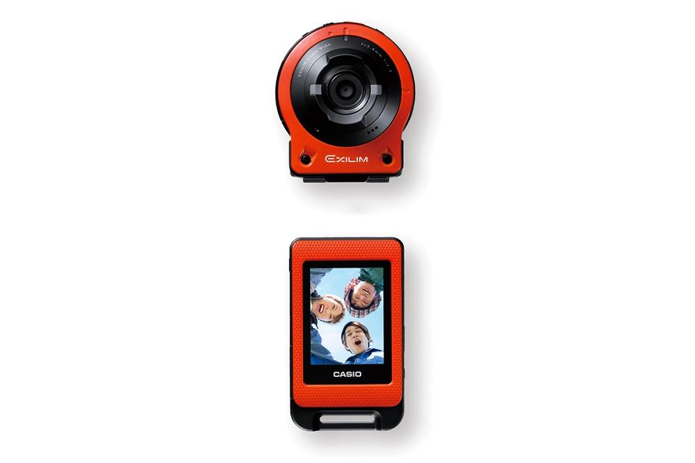 Casio представила экшн-камеру EXILIM EX-FR10 со съемным дисплеем-видоискателем