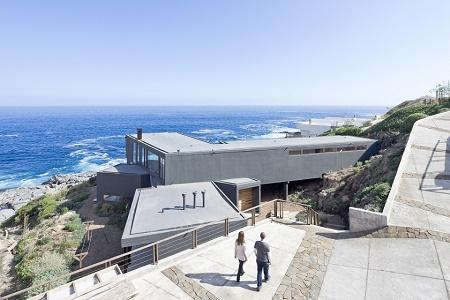 Современный загородный дом Catch the Views от студии LAND Arquitectos