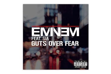 Эминем и Сиа презентовали совместный трек «Guts Over Fear»