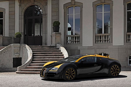 """Компания Bugatti представила уникальный Veyron Grand Sport Vitesse """"1 of 1"""""""