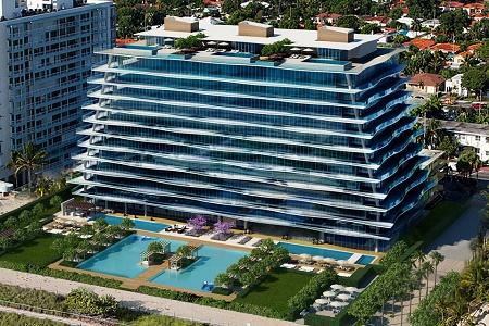 Квартиры Fendi Château Ocean на берегу океана в Майами