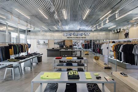 Новый магазин Carhartt WIP в Пекине