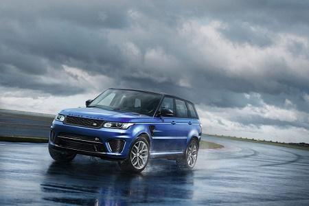 Представлен 550-сильный Range Rover Sport SVR