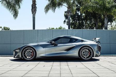 Представляем второй вариант Toyota FT-1 для Gran Turismo 6