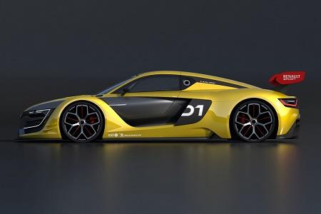 Раскрыто название нового гоночного спорткара Renault