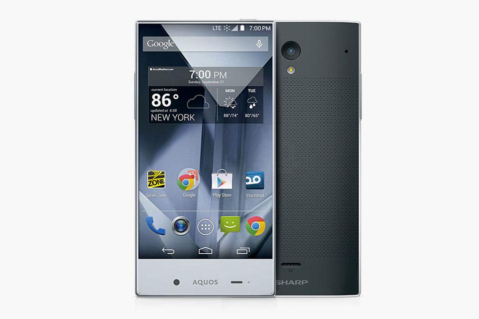 Sharp Aquos Crystal: смартфон с рекордно узкими рамками дисплея