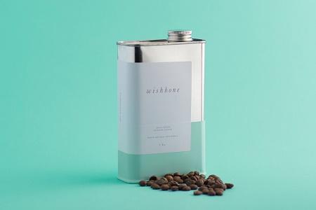 Упаковка для кофе Wishbone Brew от AKA design