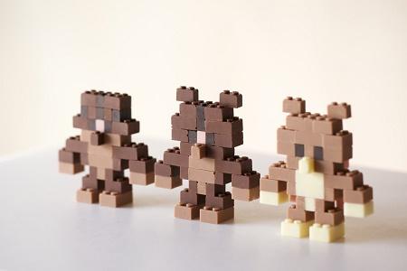 Японский дизайнер сделал LEGO из шоколада