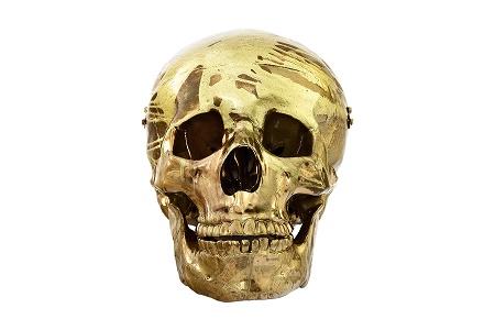 Золотые черепа Дэмиена Херста выставлены на продажу за 62 000 долларов каждый