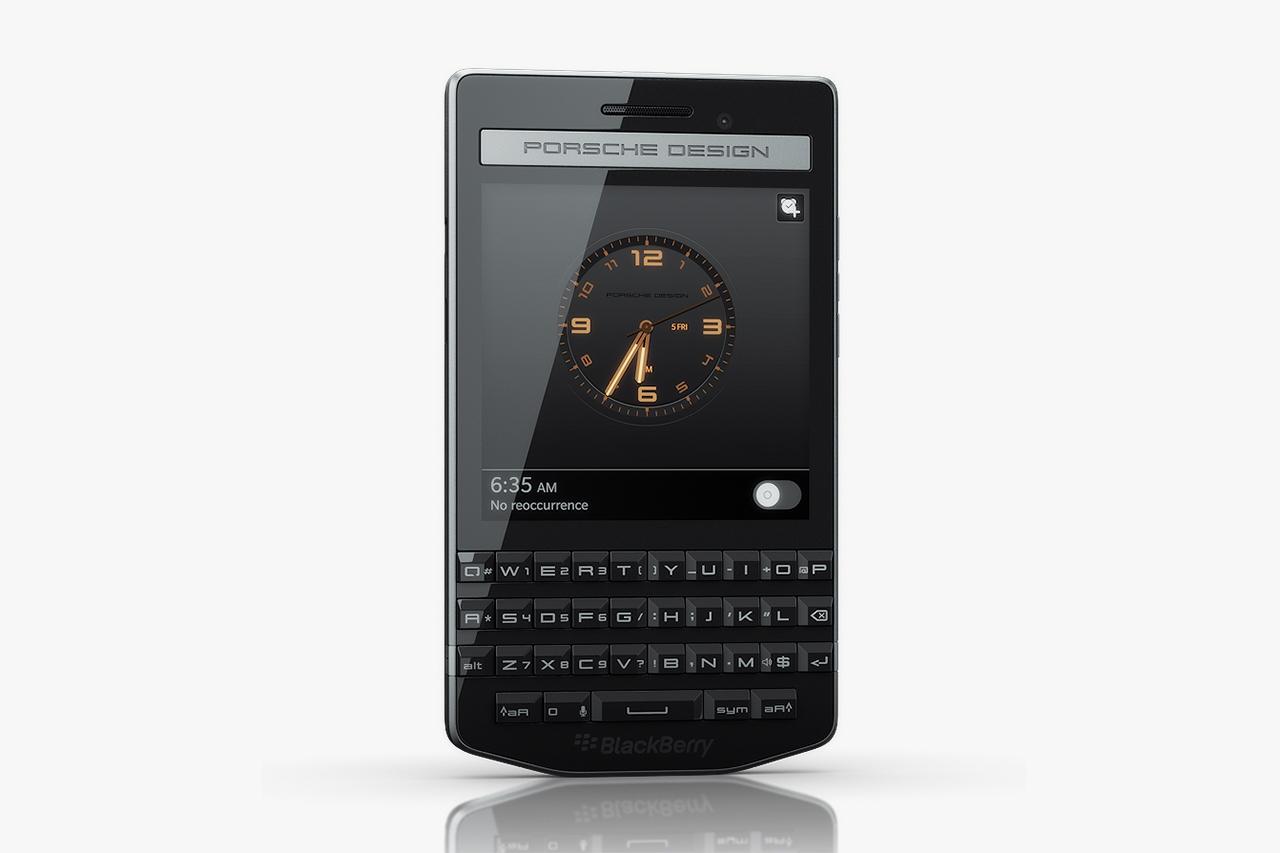 BlackBerry Porsche Design P'9983 представлен официально