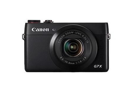 Canon анонсировала компактную камеру PowerShot G7 X с дюймовым сенсором