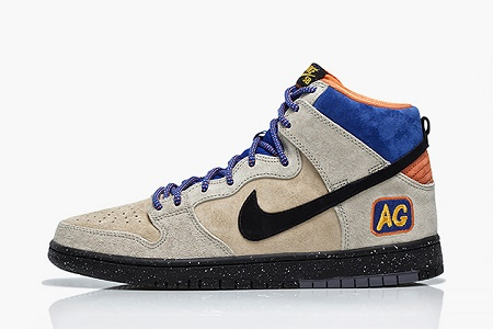 "Кеды Acapulco Gold x Nike SB Dunk High ""Mowabb"""