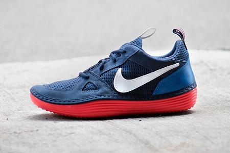 Коллекция кроссовок Nike Solarsoft Run сезона Осень 2014