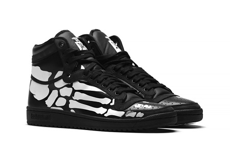 "Кроссовки adidas Originals Top Ten Hi ""Skeleton"""