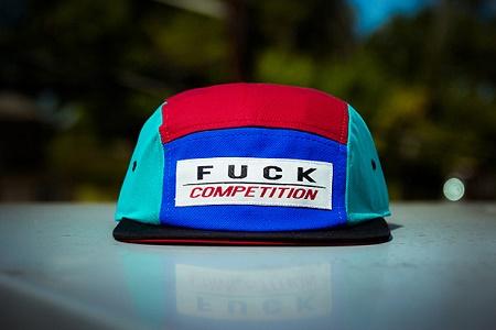 Новая модель кепки #FUCKCOMPETITION Olympic от WEMADEIT New York