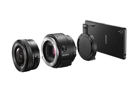 Sony обновила линейку камер-объективов моделями QX1 и QX30