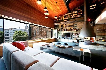 Студия Ofist спроектировали интерьер пентхауса Karakoy в Стамбуле