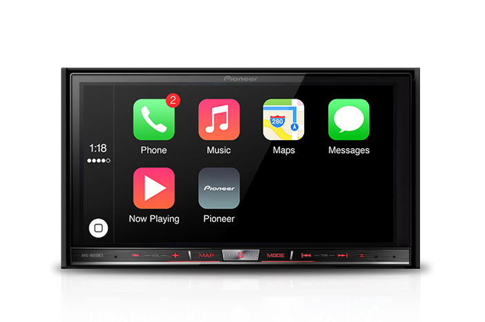 Apple CarPlay стала доступна для автомобильных систем Pioneer