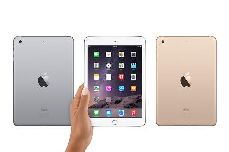 Apple выпустила новую версию компактного iPad mini 3
