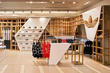 Флагманский магазин adidas Originals от ONOMA Architects