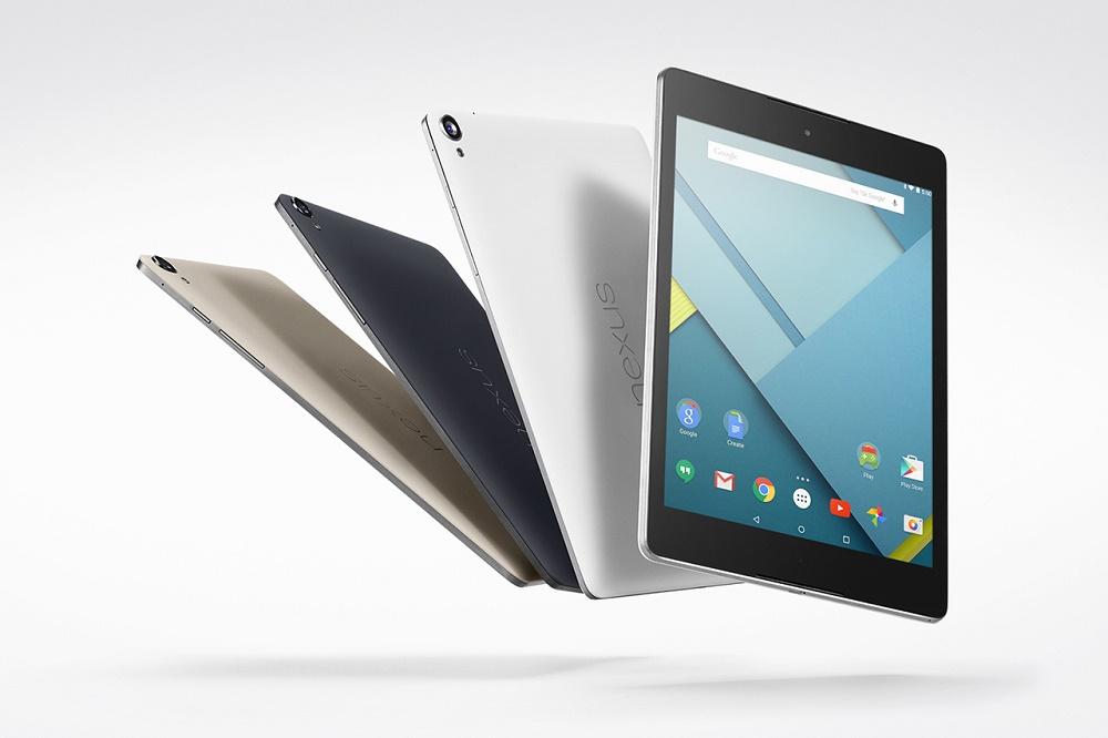 Google представила Nexus 9 с соотношением сторон экрана 4:3