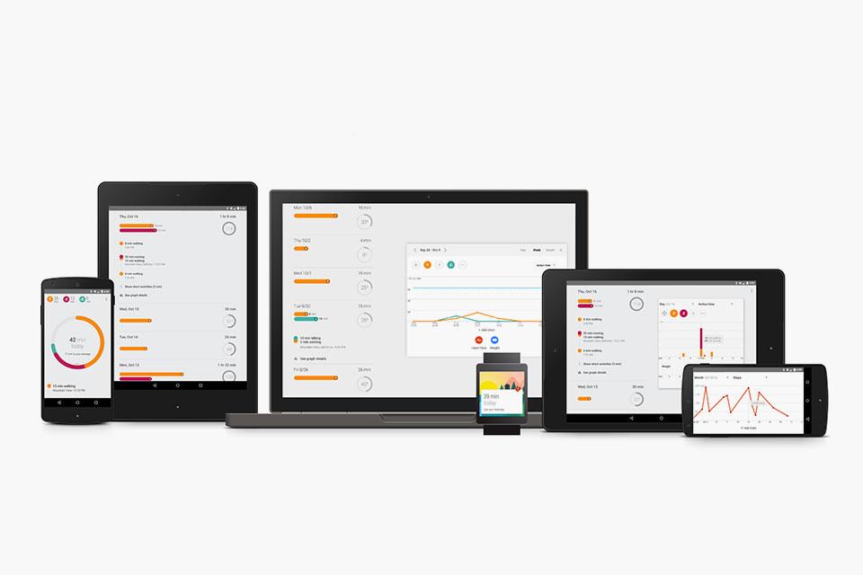 Google выпустила приложение Fit для работы с фитнес-гаджетами